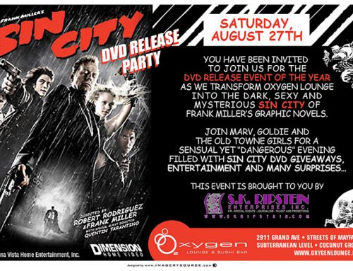 Sin City DVD Release Party