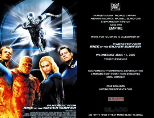 Birthday Bash 2007 & Fantastic Four Release! June 13