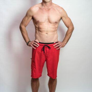 Full body shirtless