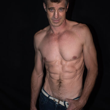 half torso without shirt